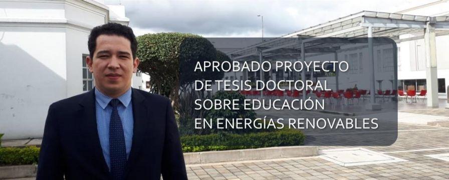 Banner para la noticia del proyecto de tesis de Vladimir Ballesteros