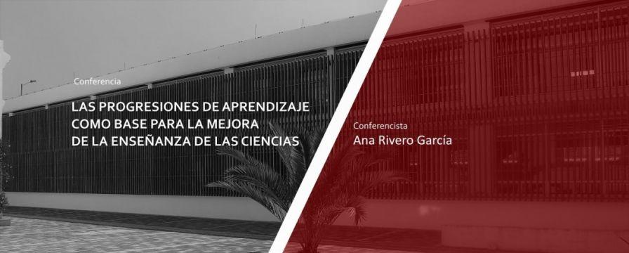 Banner por la conferencia de Ana Rivero García