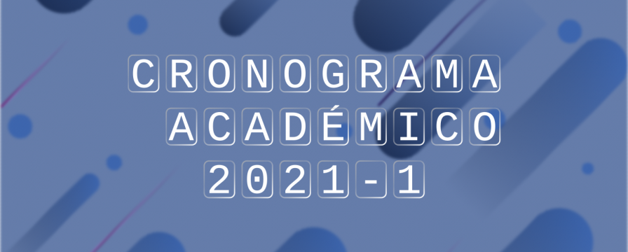 Banner para Calendario Académico 2021-I DIE-UD