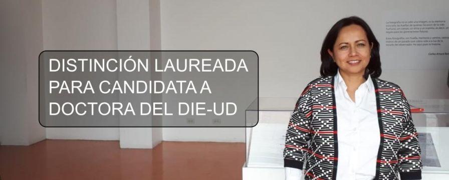 Banner por la distinción laureada a tesis de Diana Gil Chaves