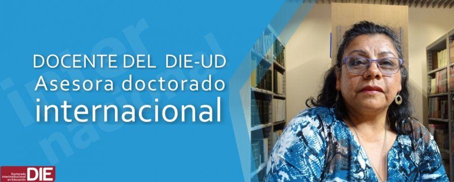 Banner por participación de Dora Inés Calderón como Asesora de Doctorado