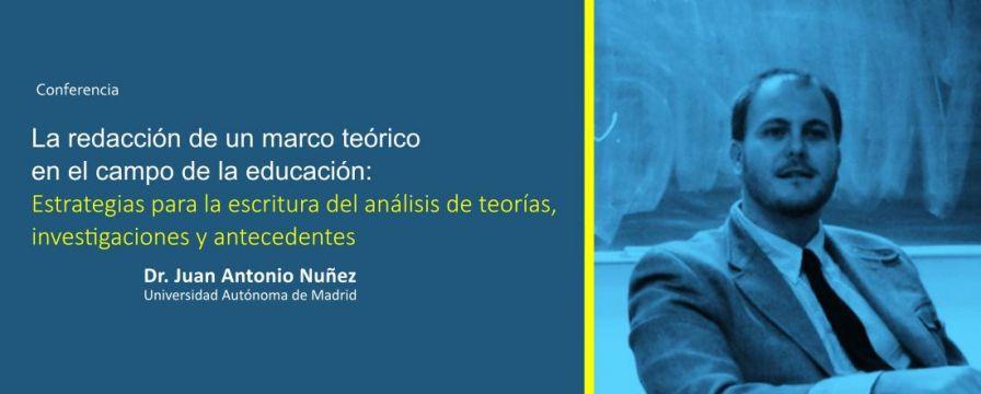 Banner por la conferencia de Juan Antonio Nuñez de la UAM