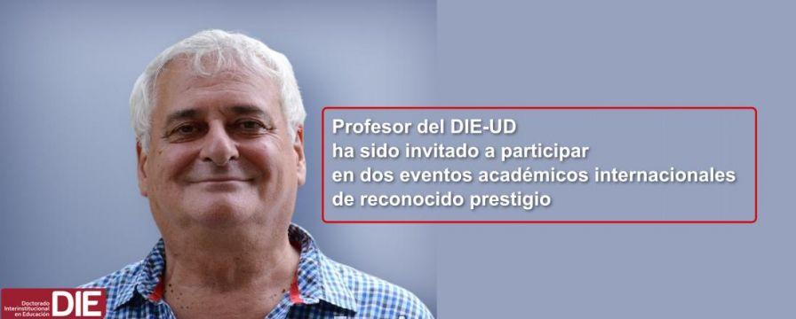 Banner por invitación del Dr. Bruno D'Amore a eventos académicos EICAL 10