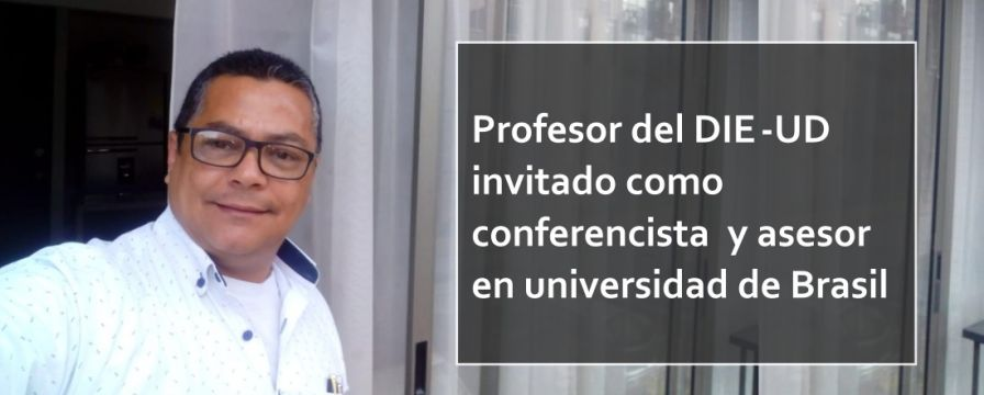 Banner por invitación a profeosr Rodolfo Vergel a UFRPE