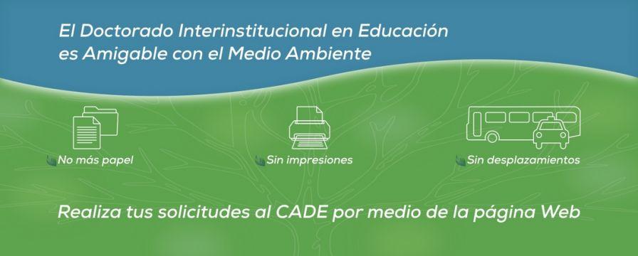 Banner para socializar formularios de solicitud al CADE