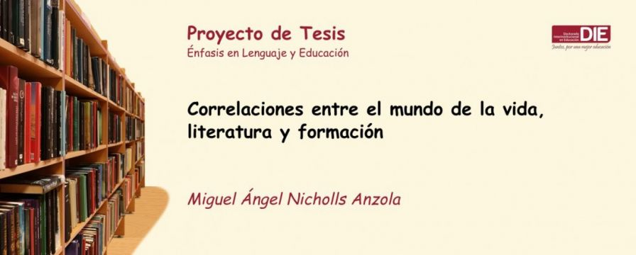 Banner para la sustentación del proyecto de Miguel Ángel Nicholls
