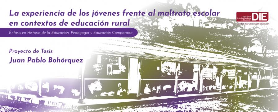 Banner por la sustentación del proyecto de Juan Pablo Bohórquez