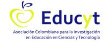 logo de la Asociación Colombiana para la Investigación en Educación en Ciencias y Tecnología