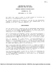 Acuerdo 023-1994 del Consejo Superior Universitario