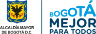 Logo de la Alcaldía de Bogotá