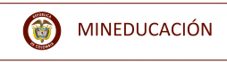Logo de MINEDUCACIÓN